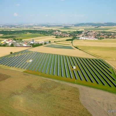 Photovoltaic power plant Unkovice